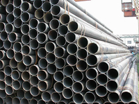 Black Round Steel Pipe