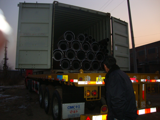 Black Oval Steel Pipe